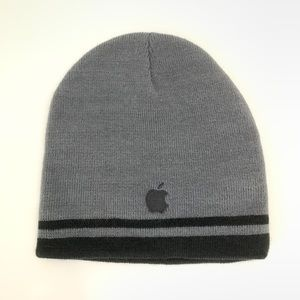 Apple Inc Dark Grey Unisex beanie